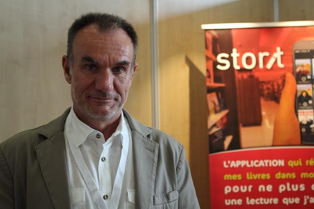 Patrice Miconi (Storit) - Congrès ABF 2016 à Clermont-Ferrand