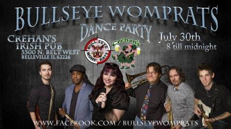 Bullseye Womprats 7-30-16