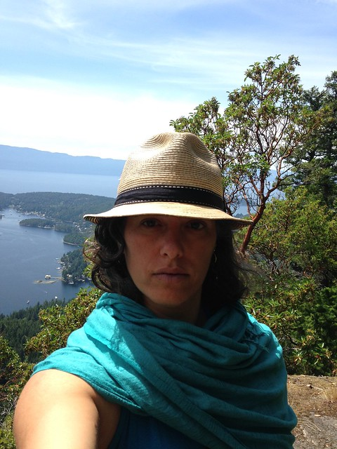 Pender Harbour Self Portrait