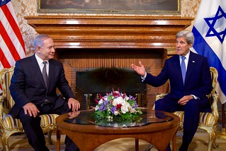 Secretary Kerry and Israeli PM Netanyahu Address Reporters