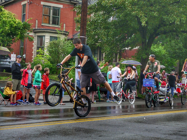 SPUN Bicycles at Northside Parade