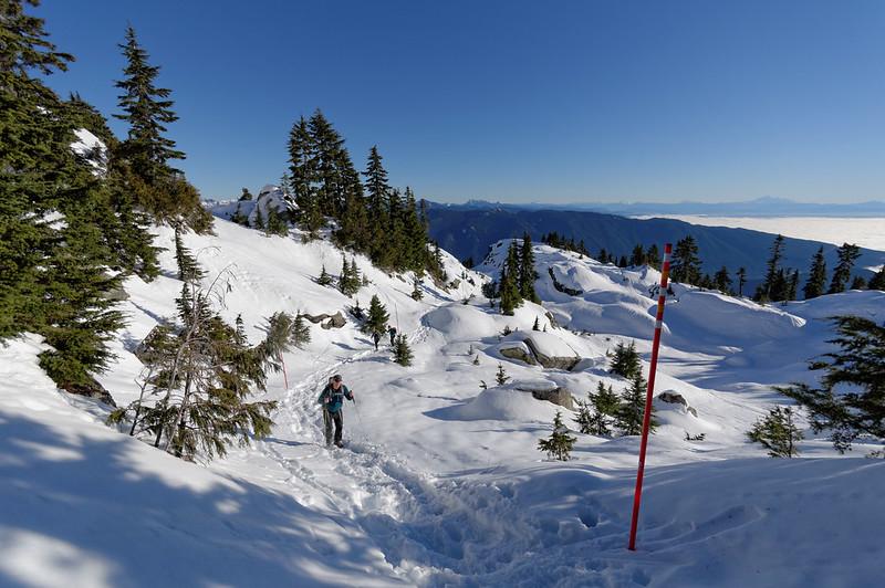 Mt Seymour, 7 Jan 2015