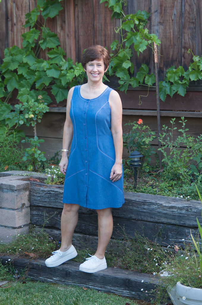 blue denim dress4