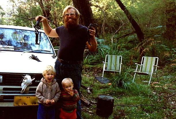 Paul, Luke & Ken caught marron in 1981