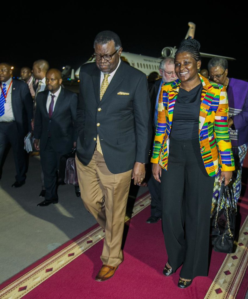 AU Namibia Geingob