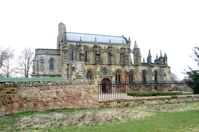 Rosslyn Chapel Side View