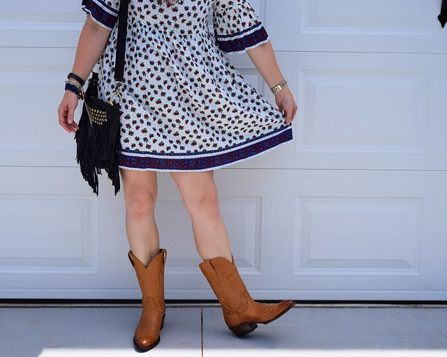 5 ways to wear cowboy boots in the summer
