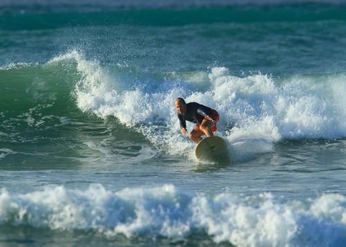 Doug Nordman, surfing