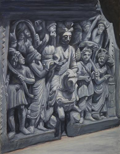 Prince Siddhartha's Great Departure (Ana Rodriguez)