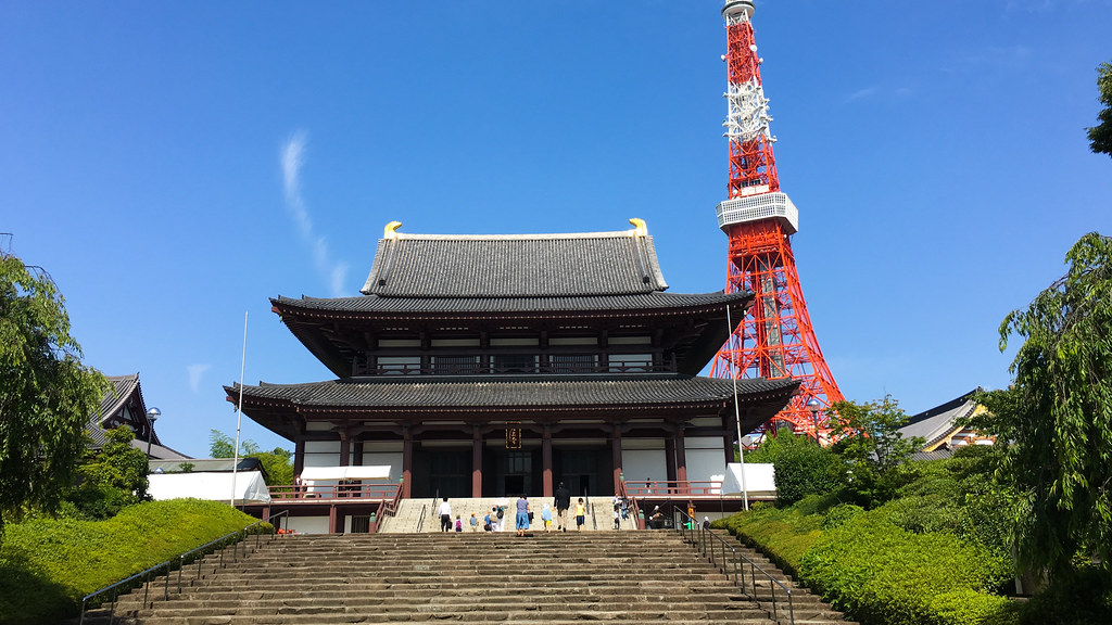 Zojo-ji and the Tokyo Tower