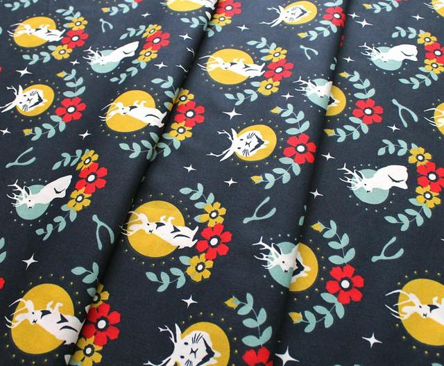 Birch Fabrics Tall Tales Jacklope Dusk