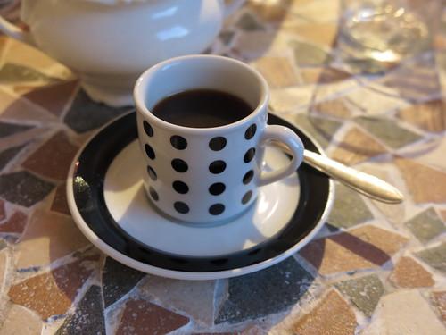 Café (Abschluss des französischen Menues)