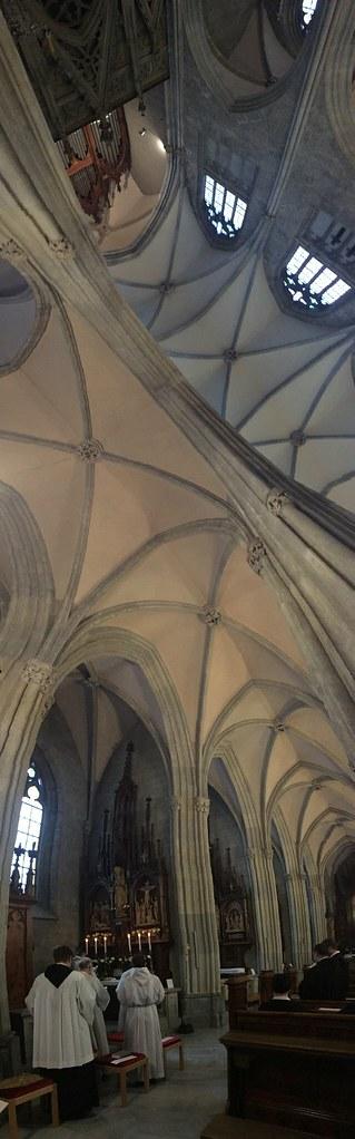 Pontifikalamt am Hemmaaltar in der Stiftskirche Admont