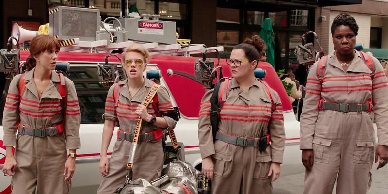 Kristen Wiig, Kate McKinnon, Melisa McCarthy and Leslie Jones kill it as the new GHOSTBUSTERS.
