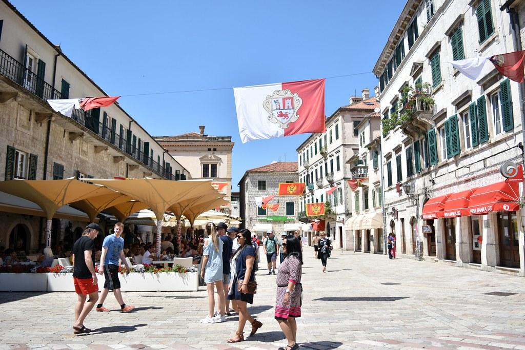 Kotor medieval town