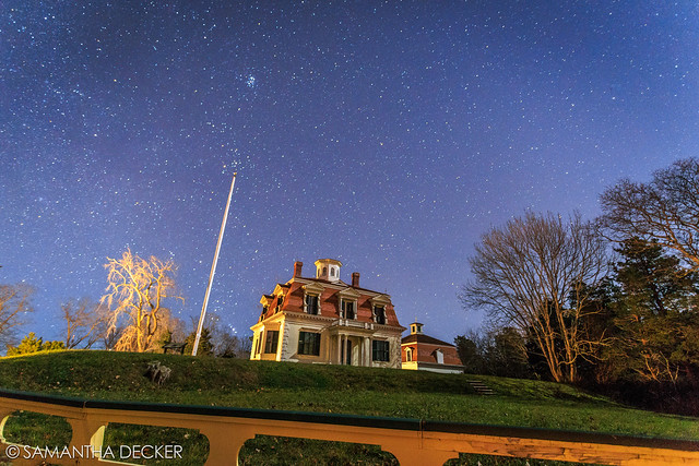 Stars Over the Penniman House