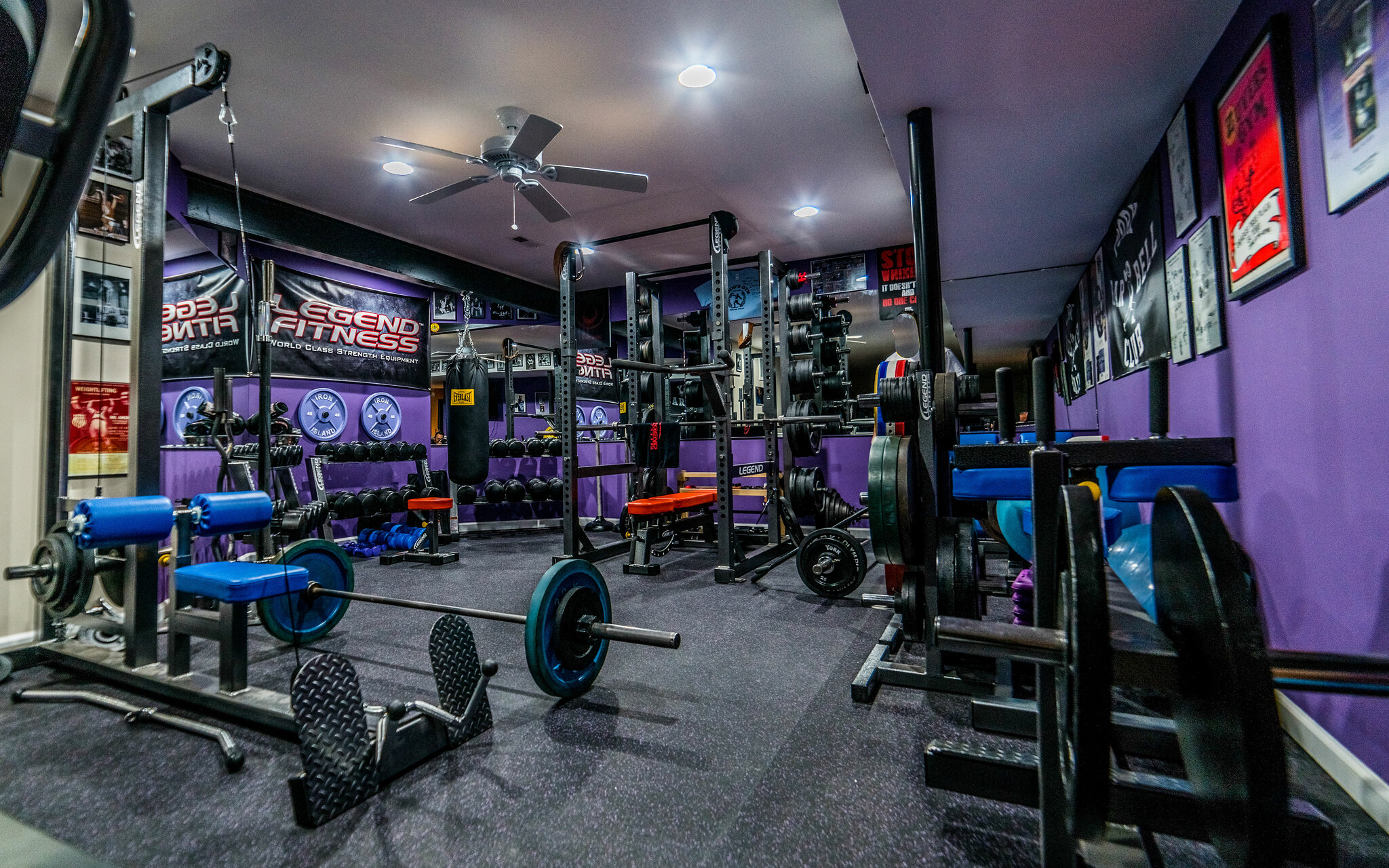 Pic s and discussion of your quot home gym page