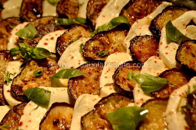 Aubergines-Mozzarella © Ana Luthi Tous droits réservés