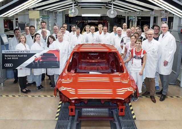 Компактний кросовер Audi Q2