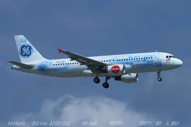 AirAsia   Airbus A320-216   9M-AQB