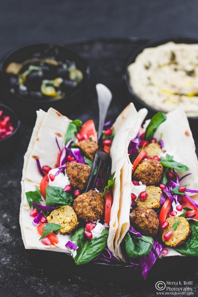 Falafel Hummus Lavash by Meeta K. Wolff-WM-0071