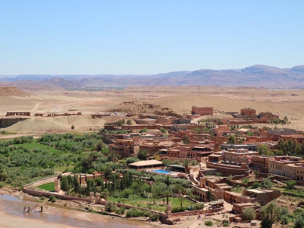 Vista desde Ait Ben Haddou