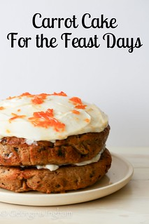 Georgina Ingham | Culinary Travels Photograph Feast and Fast Days Carrot Cake