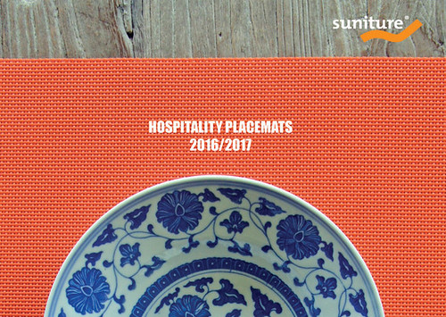 Cover of Hospitality Placemats