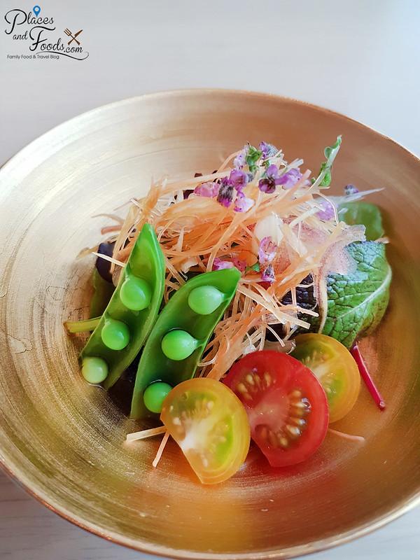 ginza tenkuni apricot lunch set salad