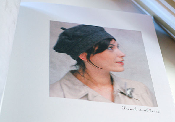 Wool beret from Simple sewing with a French twist