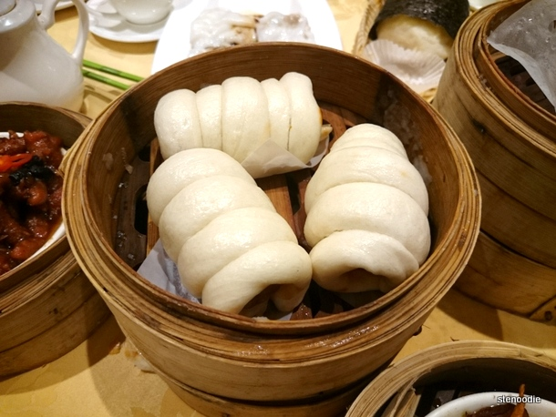 Steamed Chinese Sausage Buns