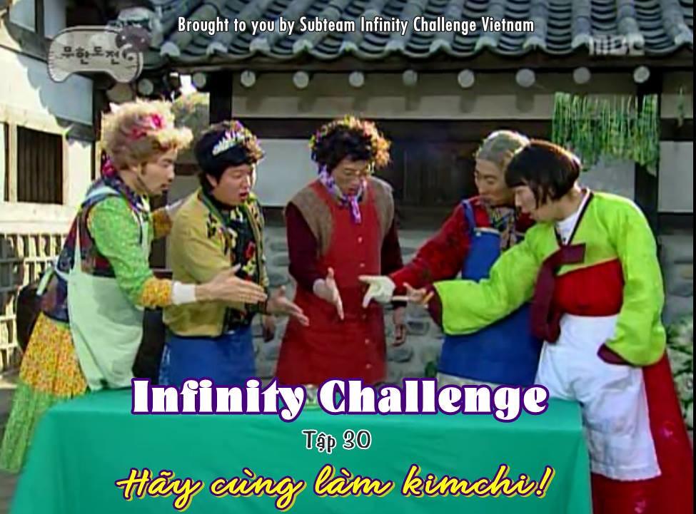 [Vietsub] Infinity Challenge Ep 30