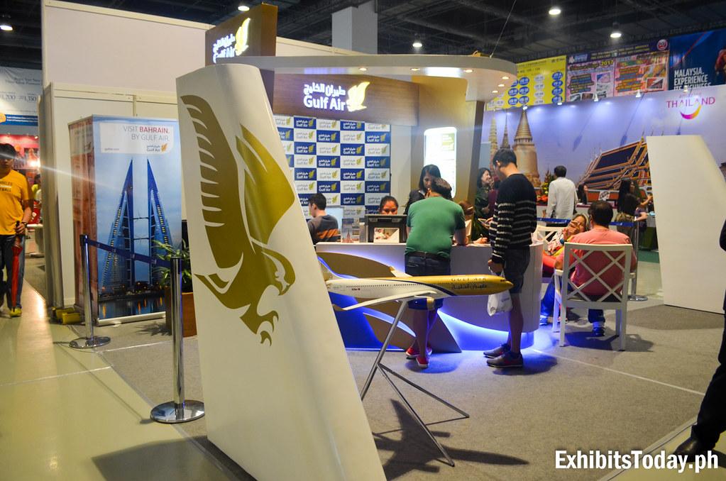 Gulf Air Exhibit Booth