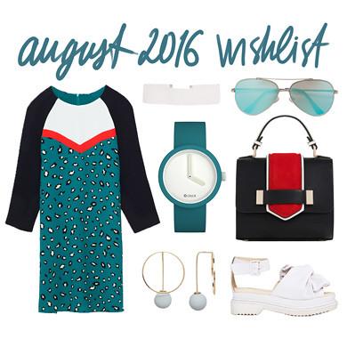 wishlist august 2016 - ZARA, ASOS, River Island, Fullspot