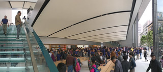 Apple Store - San Francisco Store 1st floor stairs