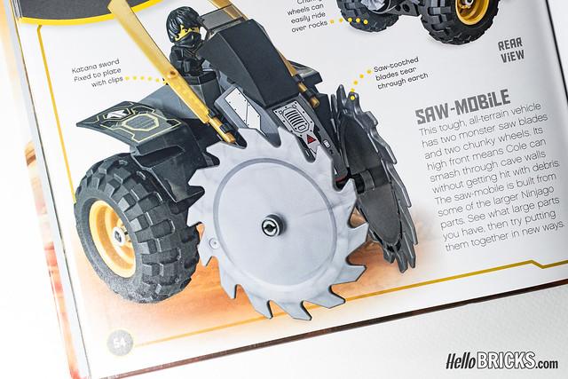 Review Livre LEGO Ninjago DK Build Your Own Adventure 13