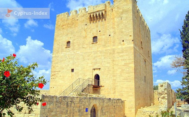 Лимассол Фото - Замок Колоссии. Кипр