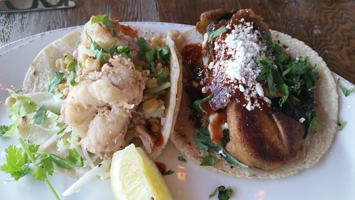 Lobster Taco & Chile Relleno Taco