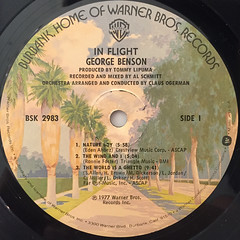 GEORGE BENSON:IN FLIGHT(LABEL SIDE-A)