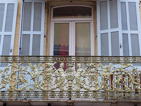 balcon à Fréjus