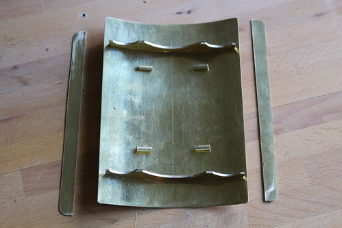 Replacement canopy for Wilesco traction engine