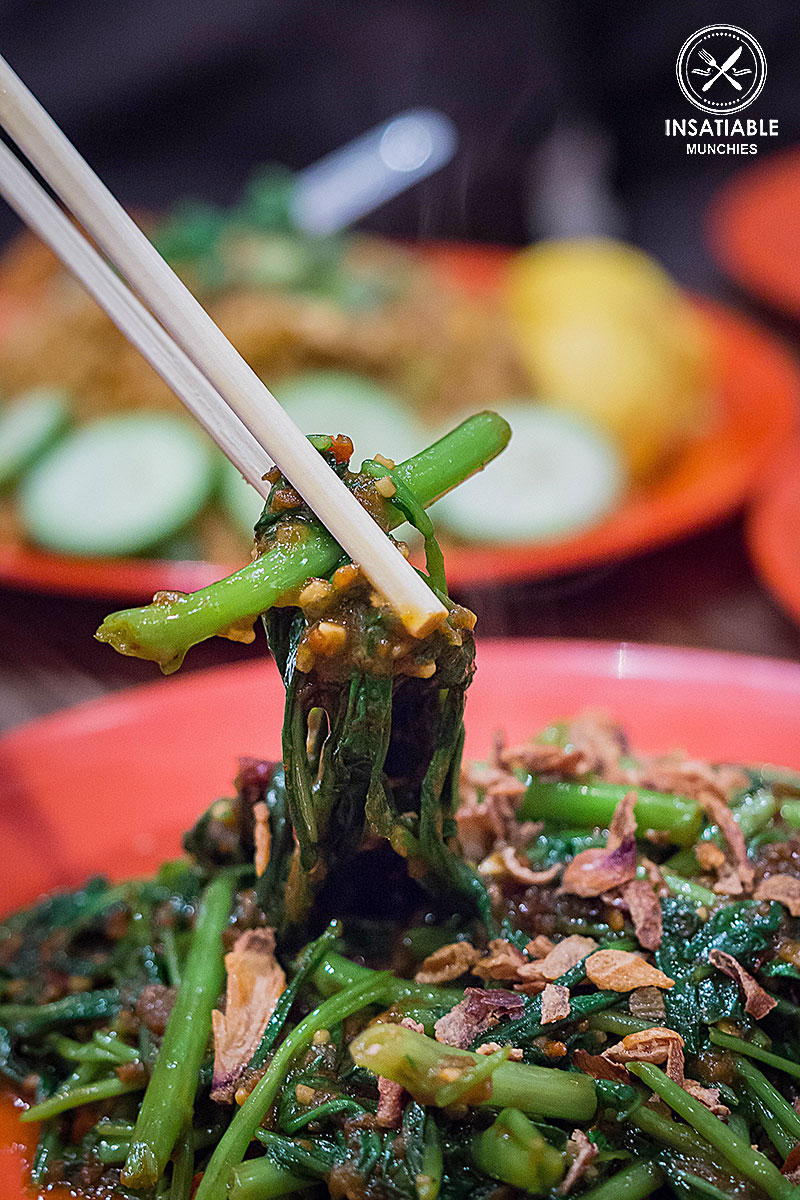 Sambal Kangkung, $12.80: Ho Jiak, Strathfield. Sydney Food Blog Review