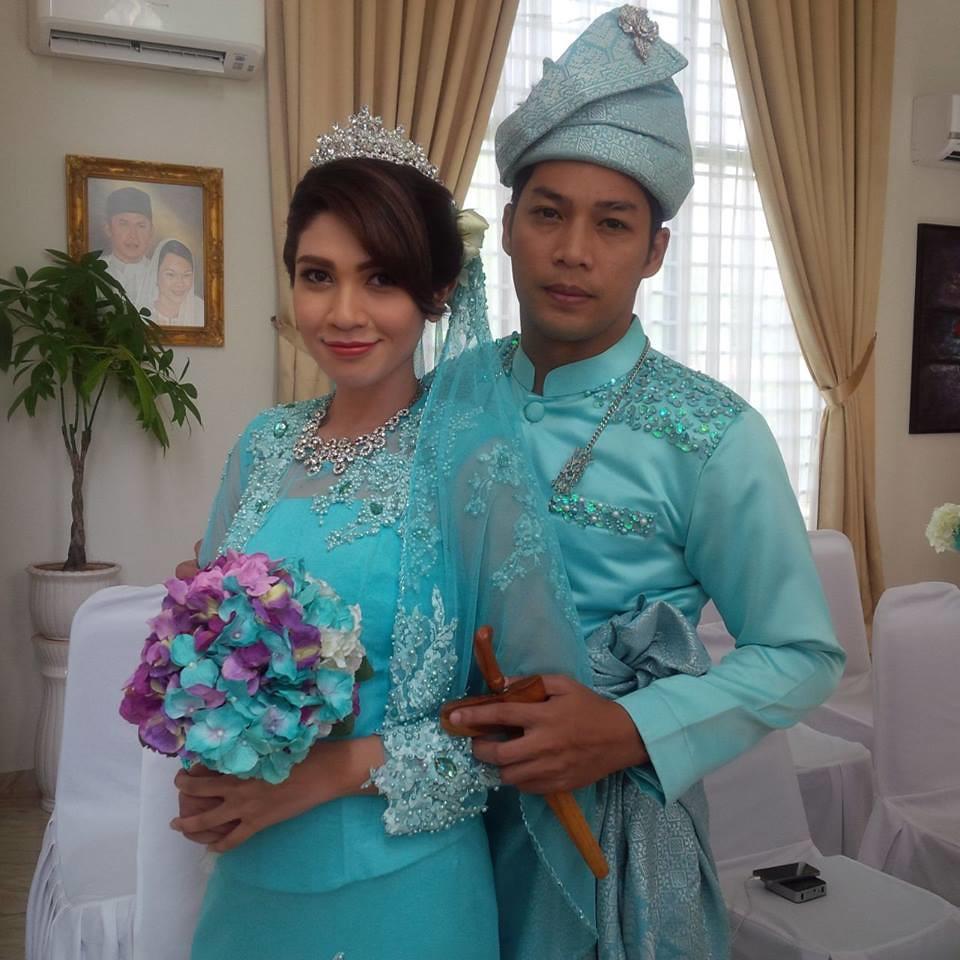 babak perkahwinan dalam drama bersiri Pergilah Air Mata