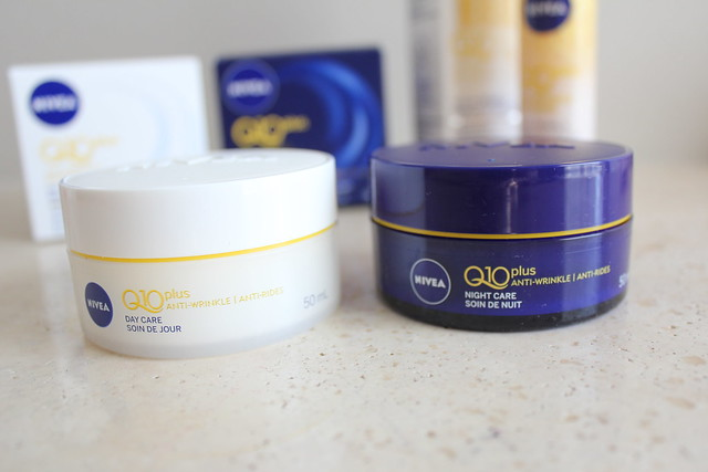 Nivea Q10plus Anti-Wrinkle Day Care and Anti-Wrinkle Night Care