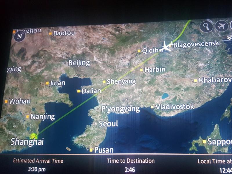 Toronto to Shanghai