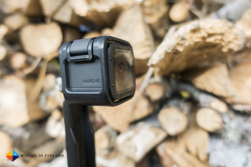 GoPro HERO4 Session Outdoors