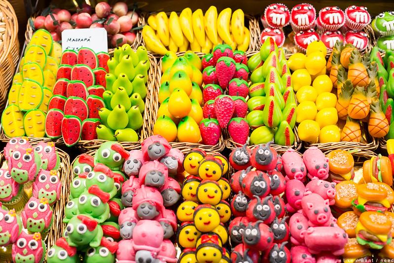 Marzipan! Mercado de La Boqueria