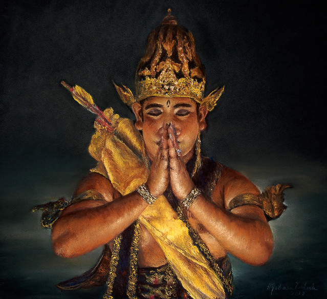 Meditation: Ramayana Dancer