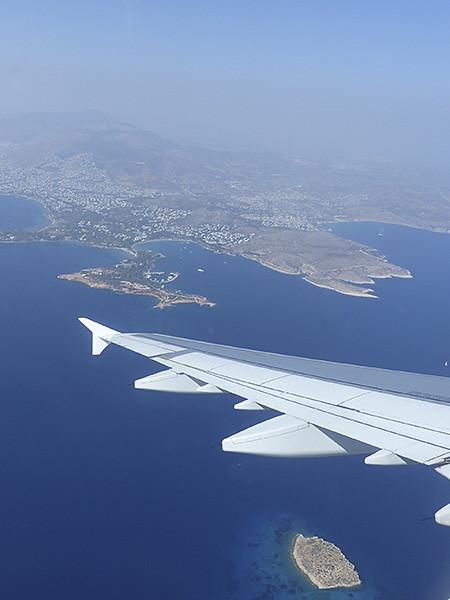 arrivée sur  Athènes