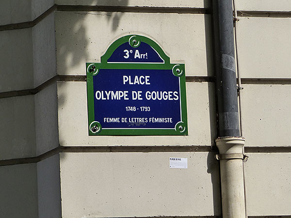 place olympe de gouges